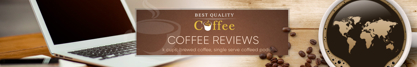 Coffee Reviews - Brewed Coffee, K Cups, Single Serve Coffee Pods - Best Quality Coffee Maud's Coffee Salted Caramel Coffee Pod Review