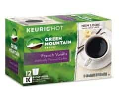 Green Mountain French Vanilla - K cups®