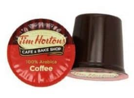 Tim Horton's Arabica Medium Roast Coffee Single Servce Coffee Cups 24ct