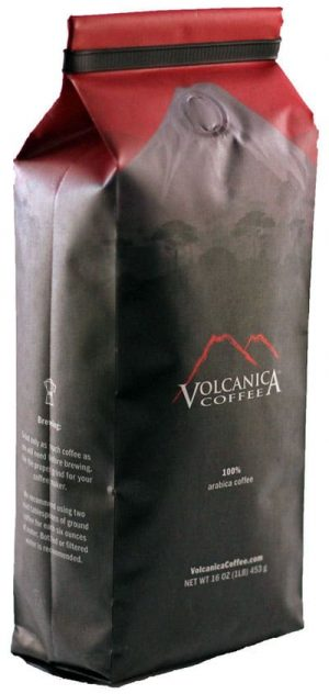 Volcanica Coffee Costa Rican Reserve Coffee Dark Roast 16oz