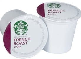 Starbbucks French Roast Dark Roast Coffee 54 Count K cups®
