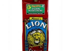 Lion Coffee Irish Creme Medium Roast 10oz