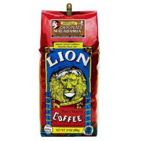Lion Coffee Chocolate Macadamia Light Medium Roast 24oz