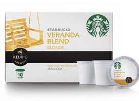 Starbucks Coffee Veranda Light Roast 60 Count K cups®