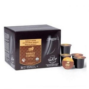 Marley Mixer Organic Variety Coffee Real Cups 36ct