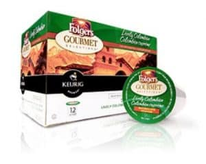 Folgers Lively Colombian Medium Roast K cups®  12ct
