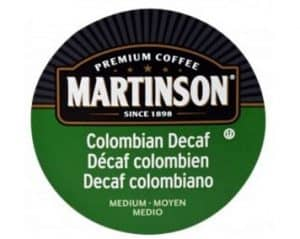 Martinson Decaf Colombian Dark RoastReal Cups 24ct