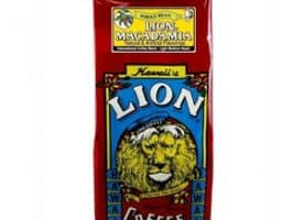 Lion Coffee Macadamia Light Medium Roast 10oz