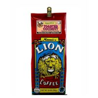 Lion Coffee Toasted Coconut Light Medium Roast 10oz