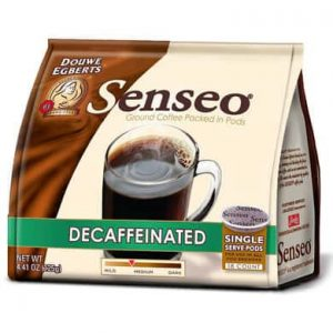 Senseo Coffee Decaf Medium Roast 108 Count Coffee Pods