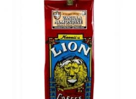 Lion Coffee Vanilla Almandine Light Medium Roast 10oz