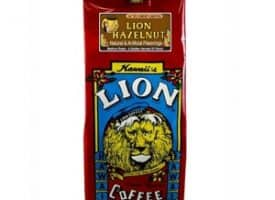 Lion Coffee Hazelnut Medium Roast 10oz