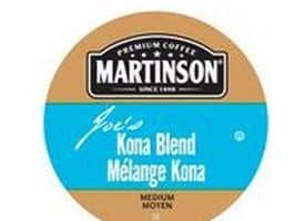 Martinson Joe's Kona Blend Coffee Medium Roast Real Cups 24ct
