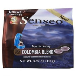 Senseo Coffee Colombia Blend Medium Roast 16 Count K cups®