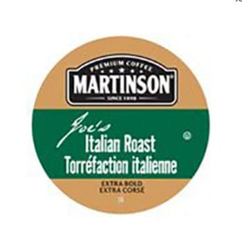 Martinson Joe's Italian Roast Dark Roast Real Cups 24ct