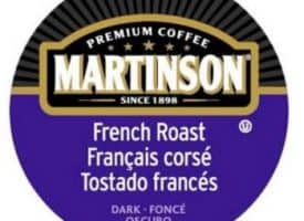 Martinson French Roast Dark Roast Real Cups 24ct