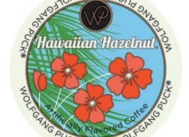 Wolfgang Hawaiian Hazelnut Coffee Light Roast RealCups 24ct