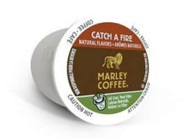 Marley Catch a Fire Coffee Dark Blend RealCups 24ct