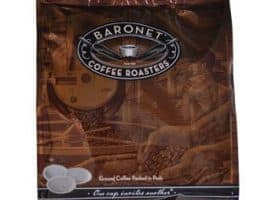 Baronet Coffee Hazlenut Roast Medium Roast 18ct Coffee Pods