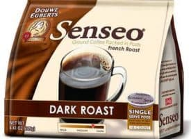 Senseo Coffee French Roast Dark Roast 108 Count Coffee Pods