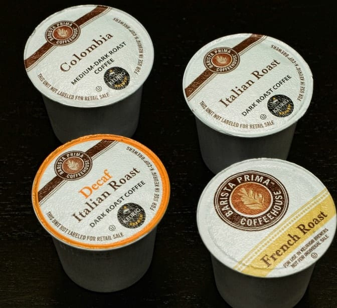 Barista Prima Coffee Variety Pack K cups®  96ct