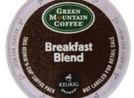Green Mountain Coffee Breakfast Blend Light Roast K cups®  12ct