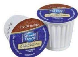 Maxwell House House Blend Coffee Medium Roast Real Cups 24ct