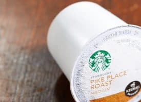 Starbucks Pike Place Blend Medium Roast K Cup 32ct
