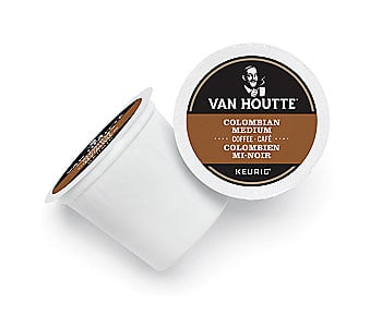 Van Houtte Colombian Coffee Blend Medium Roast Kcups 12ct