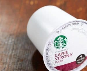Starbucks Caffe Verona Dark Roast K cups®  32Ct