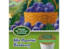 Green Mountain Coffee Fair Trade Certified Wild Mountain Blueberry Light Roast K cups®  24ct