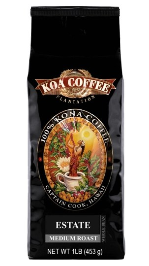 Koa Coffee Estate Kona Medium Roast 16oz