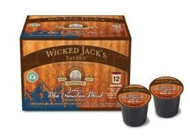 Wicked Jack's Jamaica Blue Mountain Blend Medium Roast Single Serve Coffee 12ct