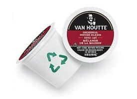 Van Houtte House BlendCoffee Medium Roast Kcups 24ct