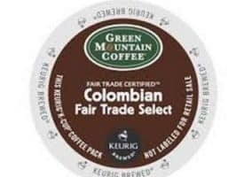 Green Mountain Coffee Colombian Blend Medium Roast K cups®  12ct