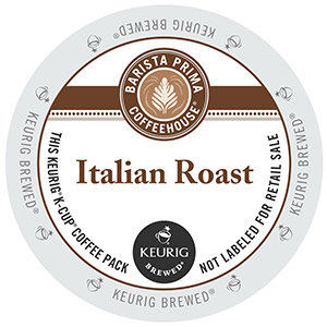Barista Prima Coffeehouse Italian Roast Dark Roast K cups®  24ct