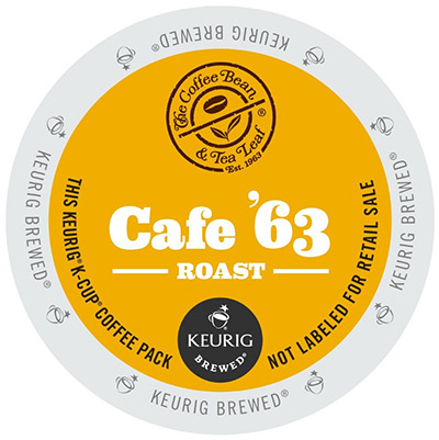 Coffee Bean and Tea Leaf Company Cafe 63 Light Roast K cups®  24ct