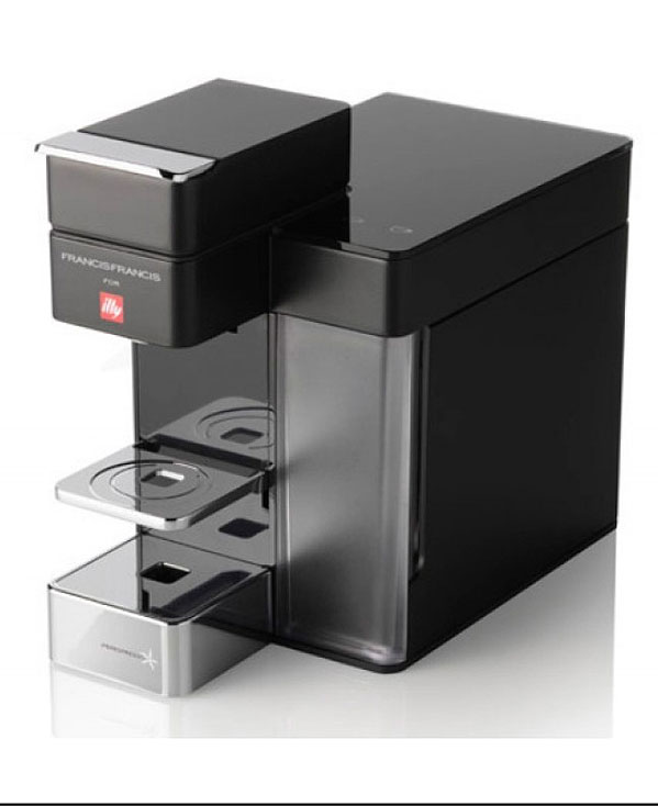 Francis Francis Y5 Duo Black Coffee Maker