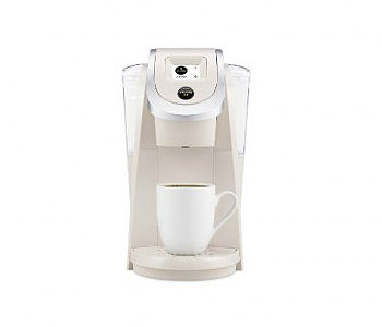 Keurig Coffee Machine K200 K Cup Coffee Brewer Sandy Pearl
