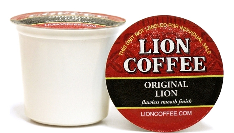 Lion Coffee Original Medium Roast 12ct Single Serve Coffee