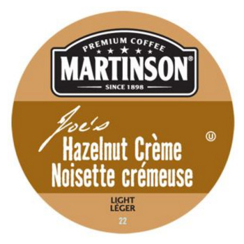 Martinson Joe's Hazelnut Creme Light Roast Real Cups 24ct