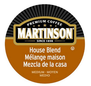 Martinson House Blend Medium Roast Real Cups 24ct