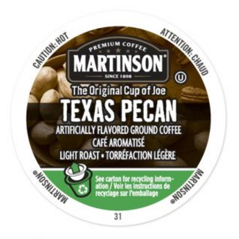 Martinson Texas Pecan Light Roast Real Cups 24ct