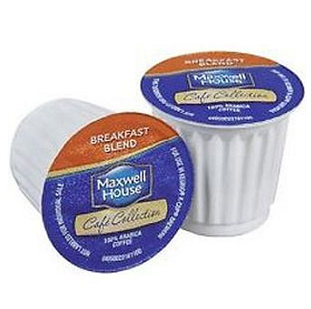 Maxwell House Breakfast Blend Coffee Light Roast Real Cups 24ct