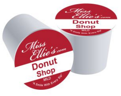 Miss Ellie's Donut Shop Medium Roast 24ct RealCups