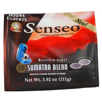 Senseo Coffee Sumatra Dark Roast Extra Bold 16 Count K cups®