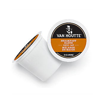 Van Houtte Breakfast Blend Coffee Light Roast Kcups 12ct