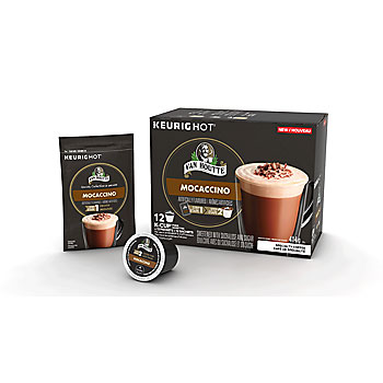 Van Houtte Mocaccino Coffee Light Medium Roast Kcups 12ct