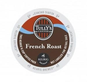 Tully's Coffee French Roast Dark Roast Kcups 24ct
