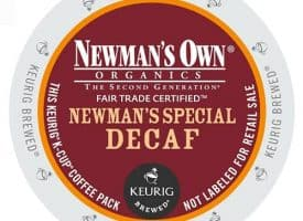 Newman's Own Decaf Organic Newman's Special Medium Dark Roast KCups 24ct